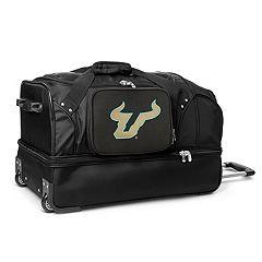 South Florida Bulls 27-Inch Rolling Duffel Bag 59f7f4827247e
