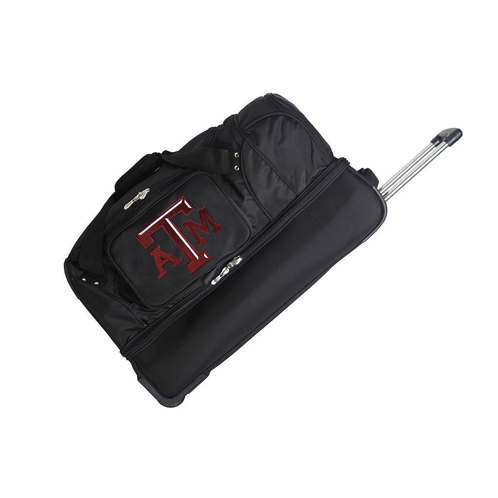 Texas A & M Aggies 27-Inch Rolling Duffel Bag