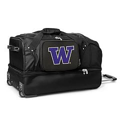 Washington Huskies 27-Inch Rolling Duffel Bag