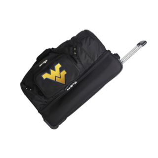 West Virginia Mountaineers 27-Inch Rolling Duffel Bag