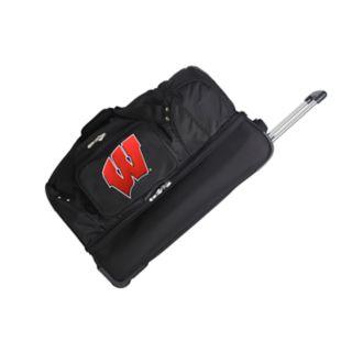 Wisconsin Badgers 27-Inch Rolling Duffel Bag