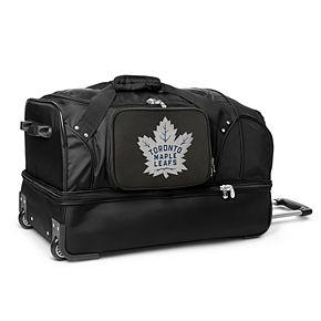 Toronto Maple Leafs 27-Inch Rolling Duffel Bag