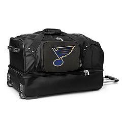 St. Louis Blues 27-Inch Rolling Duffel Bag
