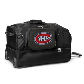 Montreal Canadiens 27-Inch Rolling Duffel Bag