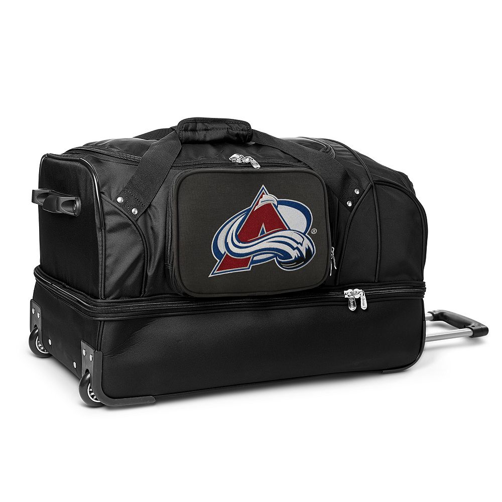 Colorado Avalanche 27-Inch Rolling Duffel Bag