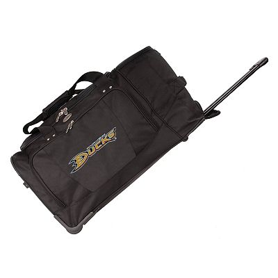 Anaheim Ducks 27-in. Wheeled Duffel Bag