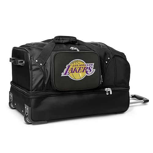 Los Angeles Lakers 27-Inch Rolling Duffel Bag