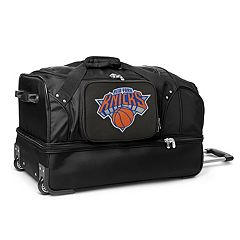 New York Knicks 27-Inch Rolling Duffel Bag