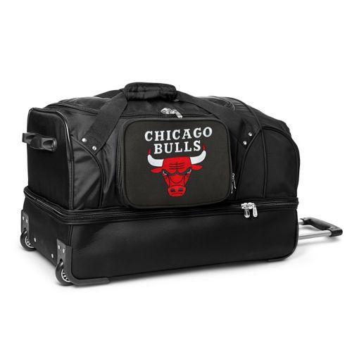 Chicago Bulls Luggage, 27-in. Wheeled Duffel Bag
