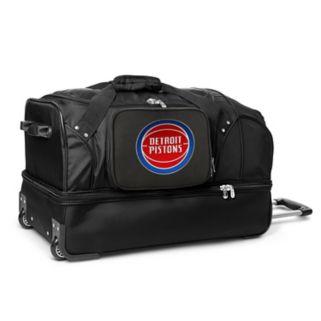 Detroit Pistons 27-Inch Rolling Duffel Bag