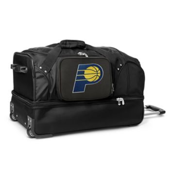 Indiana Pacers 27-Inch Rolling Duffel Bag