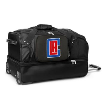 Los Angeles Clippers 27-Inch Rolling Duffel Bag
