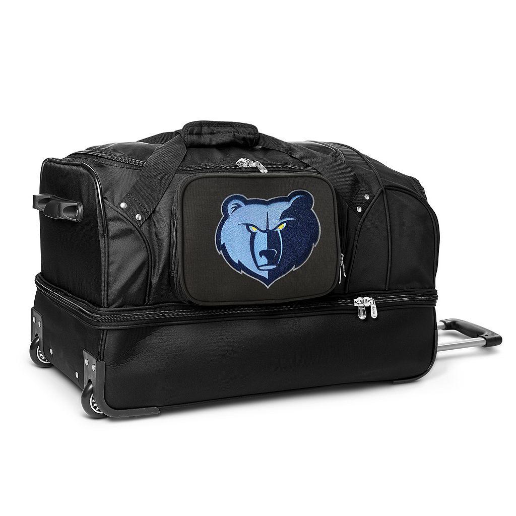 Memphis Grizzlies 27-Inch Rolling Duffel Bag