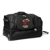 Miami Heat 27-Inch Rolling Duffel Bag