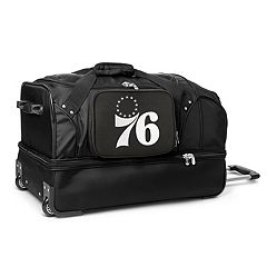 Philadelphia 76ers 27-Inch Rolling Duffel Bag