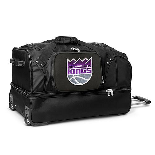 Sacramento Kings 27-Inch Rolling Duffel Bag