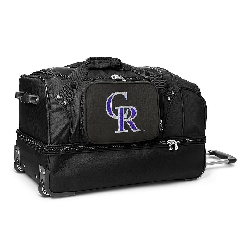 Colorado Rockies 27-Inch Rolling Duffel Bag
