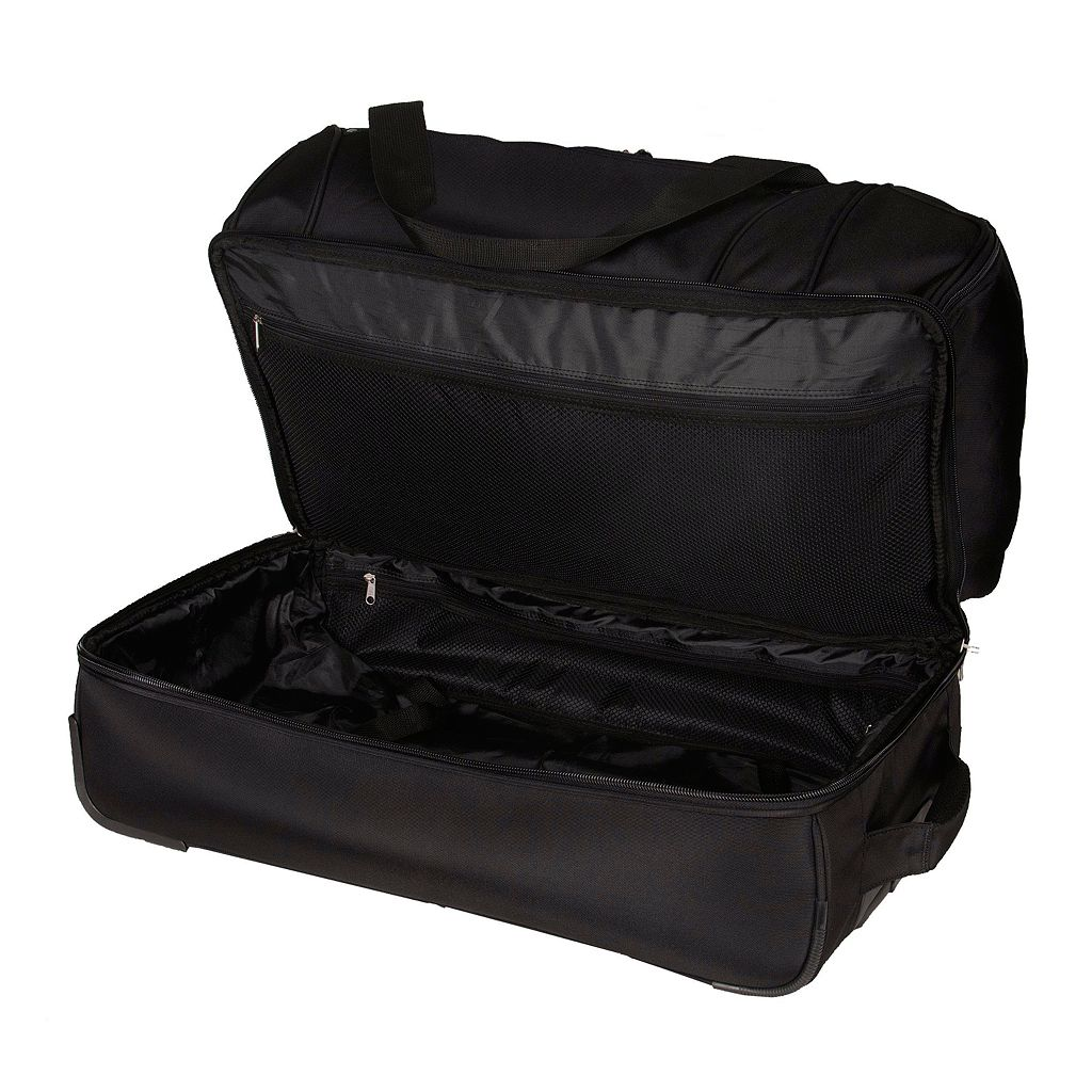 Colorado Rockies 27-Inch Rolling Duffel Bag