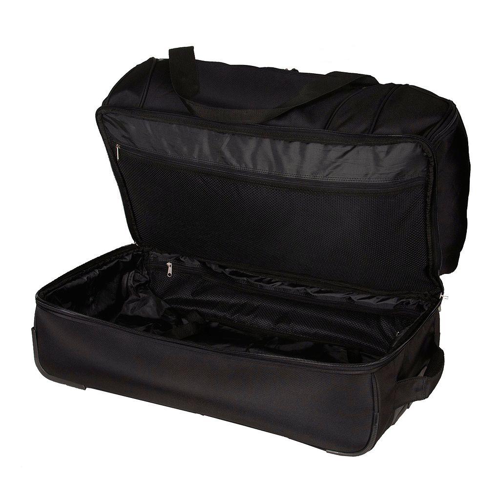 Houston Astros 27-Inch Rolling Duffel Bag