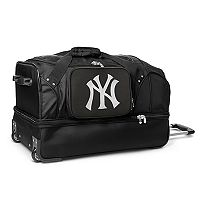 New York Yankees 27-Inch Rolling Duffel Bag