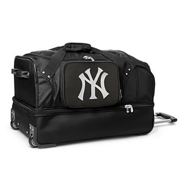 New York Yankees 27-Inch Rolling Duffel Bag