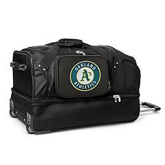 Oakland Athletics 27-Inch Rolling Duffel Bag