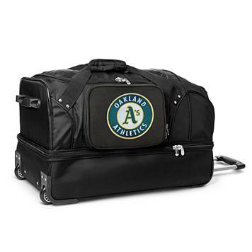 Oakland Athletics 27-Inch Rolling Duffel Bag