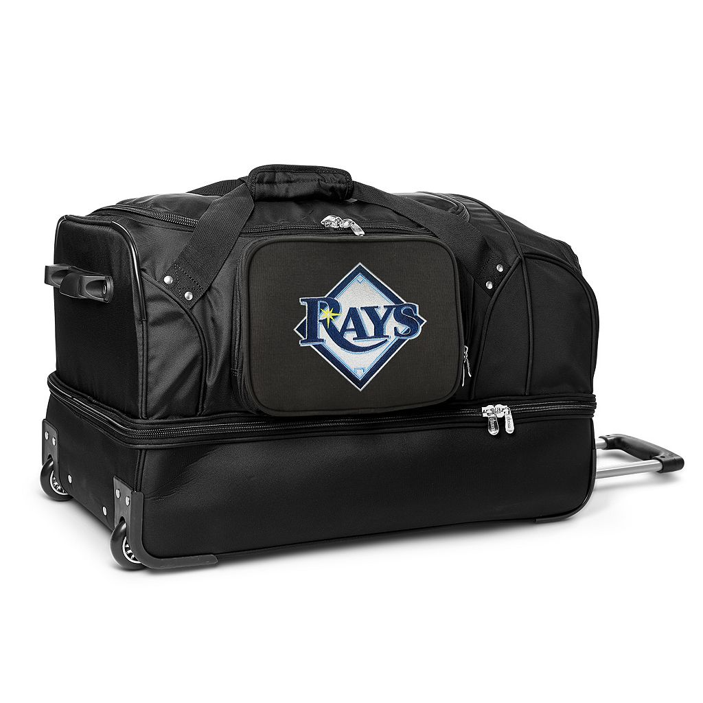 Tampa Bay Rays 27-Inch Rolling Duffel Bag