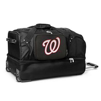 084676643a Washington Nationals 27-Inch Rolling Duffel Bag