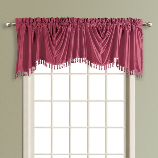 United Curtain Co. Anna Austrian Window Valance - 31'' x 108''