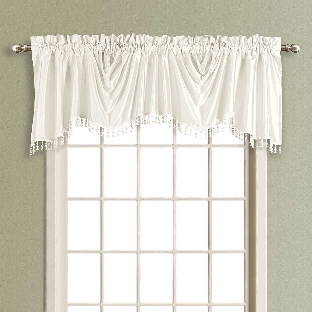 United Curtain Co. Anna Austrian Window Valance - 31'' x 108''