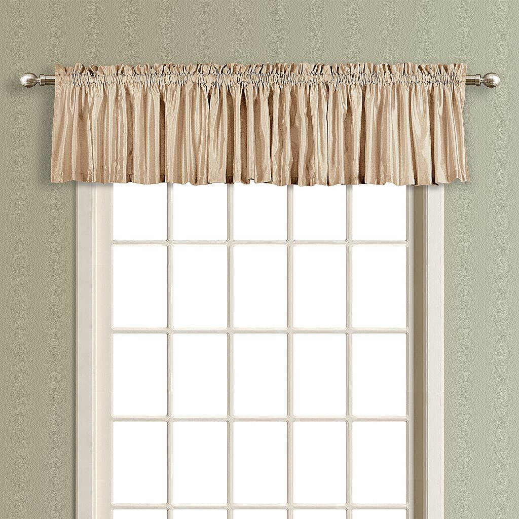 United Curtain Co. Anna Straight Valance - 16'' x 54''