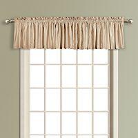 United Curtain Co. Anna Straight Window Valance - 16'' x 54''