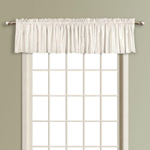 United Curtain Co. Anna Straight Valance - 16'' x 54''