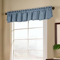 United Curtain Co. Blackstone Blackout Window Valance - 15'' x 54''