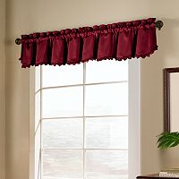 United Curtain Co. Blackstone Blackout Valance - 15'' x 54''