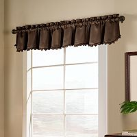 United Curtain Co. Blackstone Blackout Window Valance - 15'' x 54''