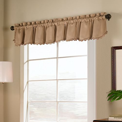 United Curtain Co. Blackstone Blackout Window Valance