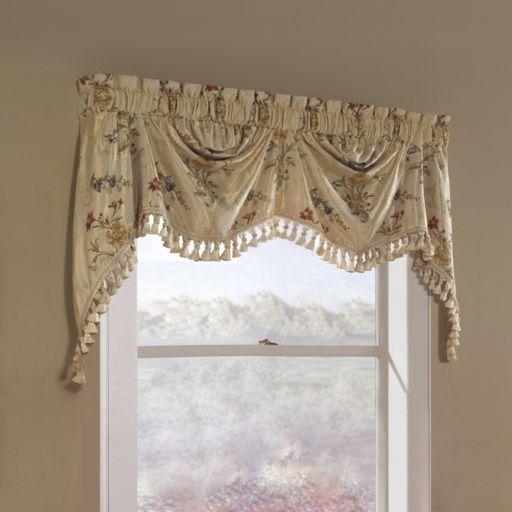 United Curtain Co. Jewel Austrian Window Valance - 30'' x 108''