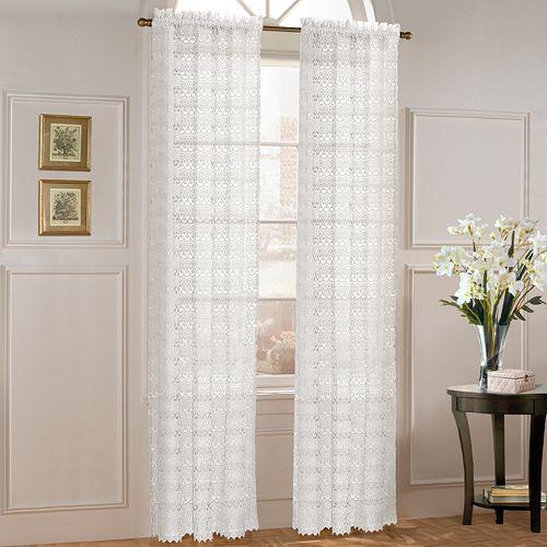 United Curtain Co Marilyn Window Panel 40 X 63