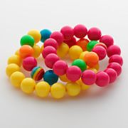 SO Bead Stretch Bracelet Set