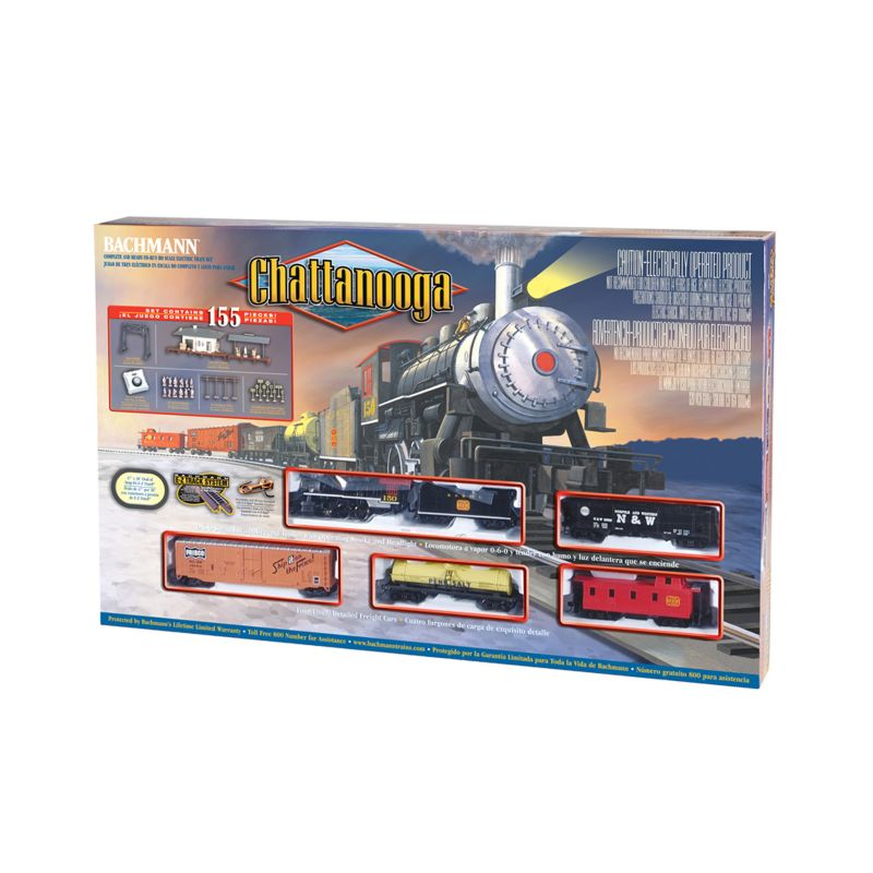Bachmann HO Scale Chattanooga Train Set, Multicolor
