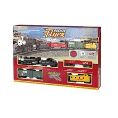 Bachman HO Scale Pacific Flyer Train Set