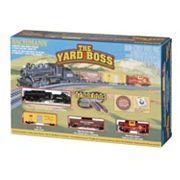 Bachmann N Scale Yard Boss Train Set