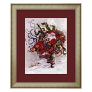 'Windswept Magic' Framed Art Print by Peggy Abrams