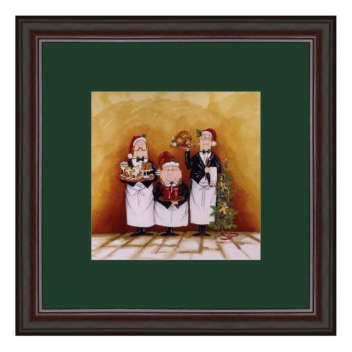 Christmas Waiters Framed Art Print by Tracy Flickinger