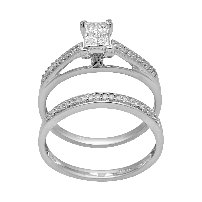 Wedding Rings Overstock 73 Fabulous Diamond Engagement Ring Set