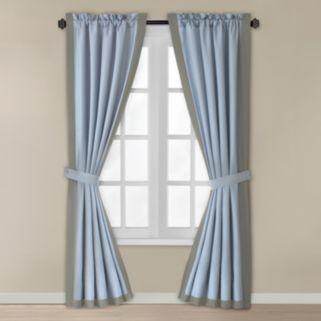 Home Classics® Lilana Window Curtain Set - 42'' x 84''