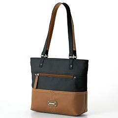 Stone & Co. Donna Colorblock Leather Tote