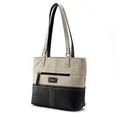 Stone Co Donna Colorblock Leather Tote